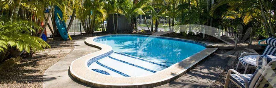 Relax and enjoy a swim in our pool at Tin Can Bay Motel